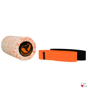 PHYSIOROLL® White&Orange + mini band